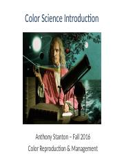 color science history 16F