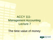 Week 10 - ACCY 111 RJD Lecture 7