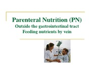 Parental Nutrition Powerpoint
