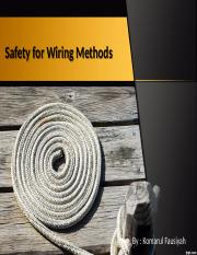 Safety for Wiring Methods_11_10_2018_09_26