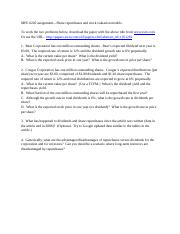 Share repurchases problems(1).docx