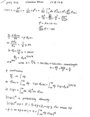 PHY 471 Lecture Notes (10/21/2015)