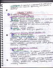 PSYC Chapter 7 Notes
