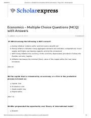 Economics – Multiple Choice Questions (MCQ) with Answers - Page 4 of 8 - Scholarexpress.pdf