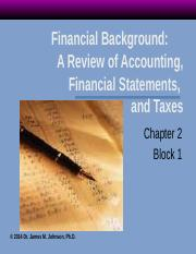 Voice Over Block 1 Financial Statement Analysis rev 1 2014 pages 36-50