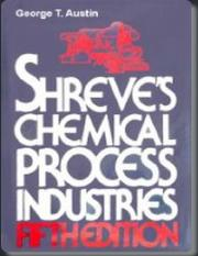 Shreve Chemical Process Industries, fifth ed pdf - Uploaded by