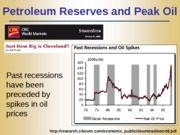 Lecture 15 - Energy Resources - Oil