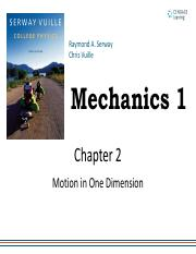 Mechanics_1_STUDENT_Motion in One Dimesion.pdf