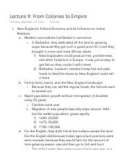 Lecture 9 From Colonies to Empire.pdf