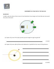 Assignment 26 Structure of the nucleus.pdf