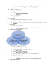 PSYC 1000 Chapter 1 PP Notes