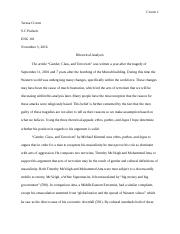 101 Croom, Teresa Rhetorical Analysis Kimmel Final Draft.docx