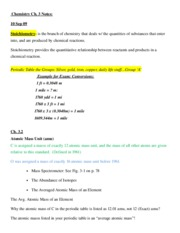 Ch. 3 Notes 10 Sep 09