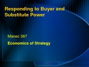 Strategic Responses to Buyer Power