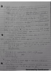 Class notes on convergence of sequences