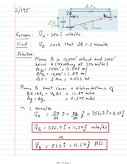 06 Relative Motion Translating Axes Solutions