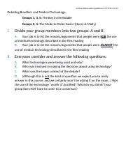 In-Class Discussion Questions 4-3 and 4-4