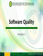 Module 3 - Software Quality.pptx