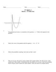 Algebra-II-CP-27-Week-Test-Review