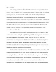 Reflection essay 4