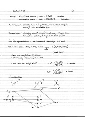 CHEM 40 Spring 2014 Notes on Lecture 25