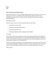 210AuthorsWorkshopStorytellingWorksheet