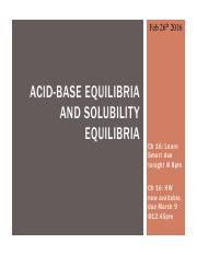 Acid Base - Solubility Equilibria (Part I)(Feb 26) for BB.pdf