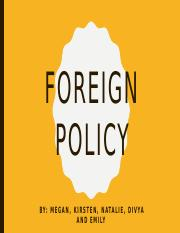 Foreign Policy.pptx
