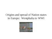 2 origins of nation state through wwI