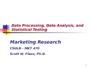 Chapter 13 -Data Processing and Analysis-2