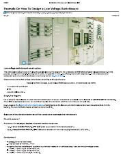Example On How To Design a Low Voltage Switchboard _ EEP.pdf