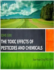 16 Pesticides and Chemicals - Canvas