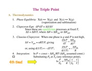 Chemistry 236_Lecture Notes on the Triple Point