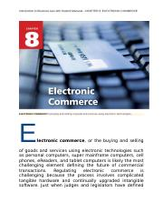 Introduction to Business Law with Student Manaual CHAPTER 8  ELECTRONIC COMMERCE.docx