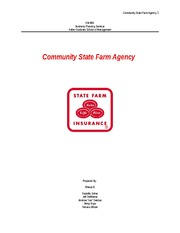 Community State Farm Agency Team C GM 600 1.6