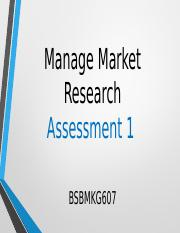 Week 3 - Manage Market Research.pptx