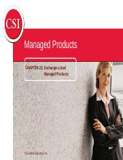 CSC Ch22_Exhcange-Listed Products(1).ppt