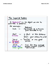 Imperial Measurement System