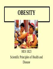 Obesity (Lecture 2, no blanks) (1)