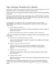Notes essays