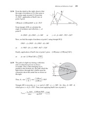 27_Ch 22 College Physics ProblemCH22 Reflection and Refraction of Light