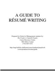 CRC Resume Guide