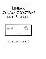 linear dynamic system and signals