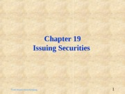 ch19_-_Issuing_Securities