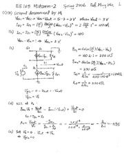 2006Spring-Midterm-2-Solution