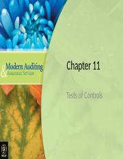 AF304 week 9Lecture # 1 - Chapter_11 test of controls (1)