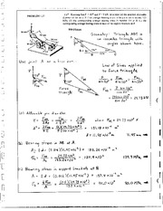 22_Mechanics Homework Mechanics of Materials Solution