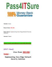 New Pass4itsure Cisco-300-206 Dumps PDF.pdf