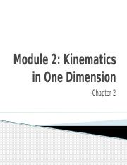 2-Kinematics in One Dimension.pptx