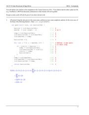 Homework B Solutions on Data Structures and Algorithms